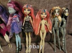10 Monster High 1st Wave Original Dolls Rare Hard to Find