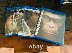 125 Blu Ray Lot Many New Steelbook Hard to Find Titles Great Selection