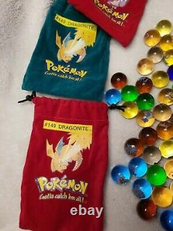 153 Pokemon Marble lot Rare! 10 Marble Bags Hard To Find L@@K FREE S&H