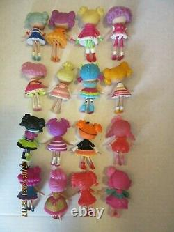 (16) LaLaLoopsy LaLaLoopsies 3 Mini Dolls Figures Lot Some Hard To Find