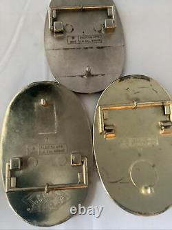 1977-78 Vintage Pacifica Belt Buckles! STYX-BOSTON-FOREIGNER MINT&HARD TO FIND