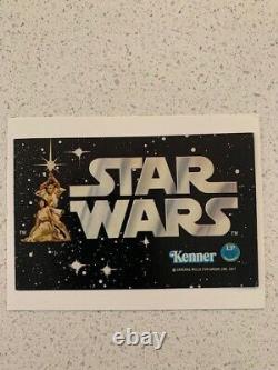 1977 Star wars Kenner EARLY BIRD Figure Kit Mini CATALOG MINT Hard to Find