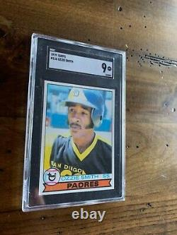1979 Topps Ozzie Smith Rookie Card #116 SGC 9 Mint! Rare, hard to find in a 9