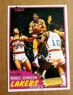 1981 Magic Johnson Topps Card Mint Possible Psa 9 Or 10 Getting Hard To Find