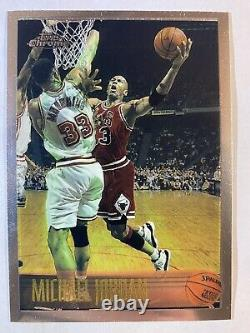 1996-97 Topps Chrome Michael Jordan 139 Hard to find! Hot! Mint Condition