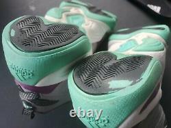 2013 Adidas Crazy 8 Bahia Mint D74542 Teal Purple SZ9 Hard to find KOBE BRYANT