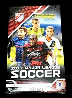 2017 TOPPS MLS SOCCER HOBBY BOX Alfonso Davies RC Rare hard to find