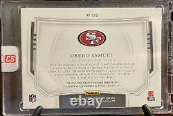 2019 National Treasures Midnight Deebo Samuel RPA RC Patch Auto /20 Hard To Find