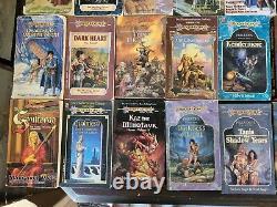 51 Dragonlance novel book lot (D&D/TSR/WotC)-Includes hard to find (rare) titles