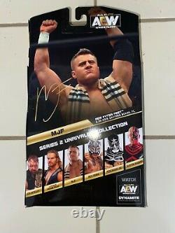 AEW Unrivaled 1 of 1000 Chase MJF Rare Mint IN HAND HARD TO FIND SUPER RARE