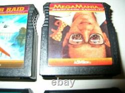 ATARI 400/800/ XL/ XE ActiVision 6-Cartridge Lot Some hard to find