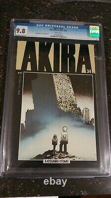 Akira #34 Cgc 9.8 Mint White Pages 1994 Marvel/epic Comics Hard To Find High