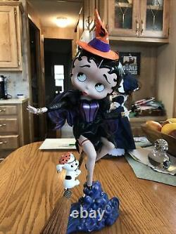 BeWitching Betty Boop. Danbury Mint. 15 Porcelain. Syd Hap. Very hard to find