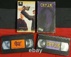 CKy & cKy2k VHS Tape Lot Super Rare Hard To Find