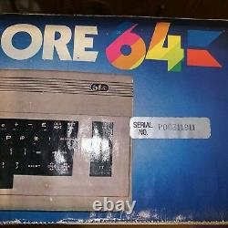 Commodore 64 PC! Mint Inside Box Hard To Find! Box Good For Over 35yrs Old