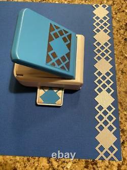 Creative Memories Argyle Border Punch Mint Condition-RARE and HARD To FIND