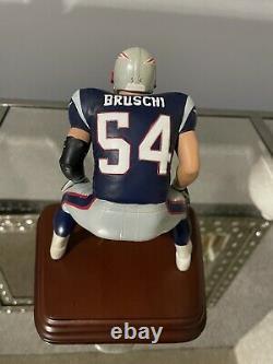 Danbury Mint New England Patriots Tedy Bruschi. HARD TO FIND