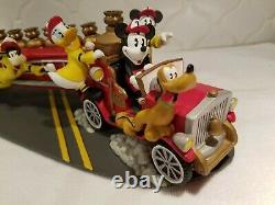 Disney Fire Truck Hanukkah Menorah (Very Hard to Find) Mint Condition
