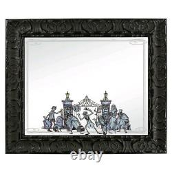 Disney Haunted Mansion Framed Mirror Very Hard To Find! New In Box! Mint