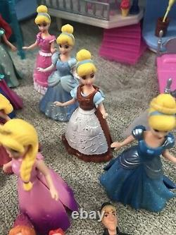 Disney MagiClip Princess Dolls & Playsets & Figures HUGE HARD TO FIND LOT