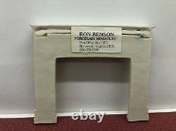 Dollhouse Miniature Ron Benson Mantel Rare Hard To Find Porcelain 112 Scale