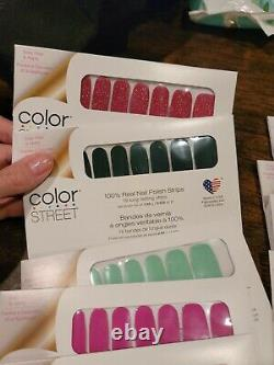 Eleven (11) NEW Color Street Nail Strips LOT, Includes Hard to Find & Retired L1