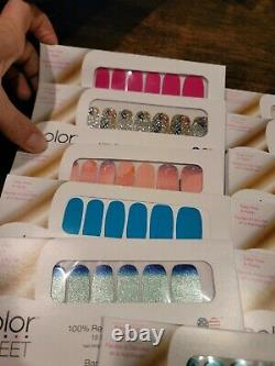 Eleven (11) NEW Color Street Nail Strips LOT, Includes Hard to Find & Retired L2