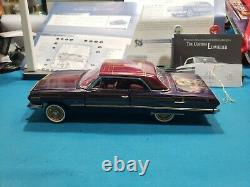 Franklin Mint 1/24th 1963 Impala SS CUSTOM LOW RIDER VERY NICE HARD TO FIND