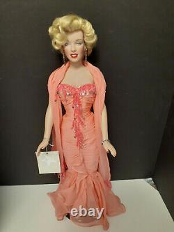 Franklin Mint Marilyn 16 Vinyl Doll Platinum Premier Hard To Find