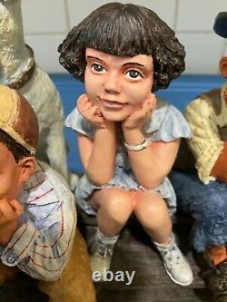 Franklin Mint The Little Rascals. Not Danbury Mint / Hard to Find Rare