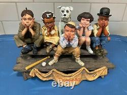 Franklin Mint The Little Rascals Very Hard to Find. Not Danbury Mint
