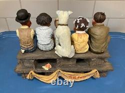 Franklin Mint The Little Rascals. Very Rare and Hard to Find