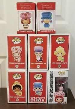 Funko Pop Strawberry Shortcake & The Gang A Lot Rare Hard To Find