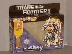 G1 Transformer Decepticon Headmaster Snapdragon Empty Box Lot # 1 Hard To Find