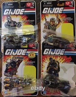 GI JOE COBRA CARTOON SERIES 11 Figure Lot Open Packages EUC Hard To Find 2008
