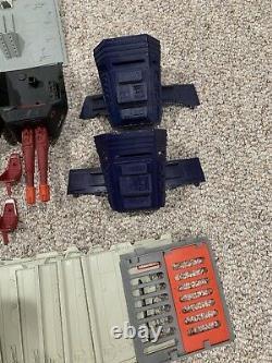 GI Joe 1986 ARAH Cobra Terror Drome Parts Lot Includes Rare Hard To Find Pieces