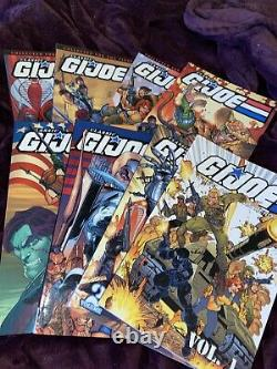 GI Joe Classic Collection Softcover TPB Lot Vol 1-8, IDW, Very Hard To Find Run