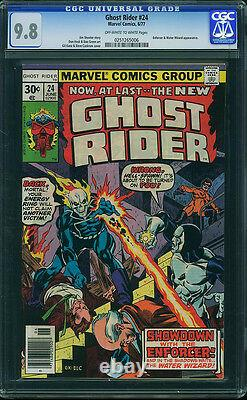 Ghost Rider #24 CGC 9.8 1977 Hard to find! NM/Mint! E12 256 cm