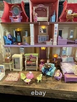 Hard To Find Loving Family 2012 Dream Dollhouse, Dolls and Furniture Lot