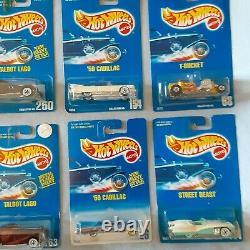 Hot Wheels (Lot 32) Vintage Blue Cards Hard to Find Misc
