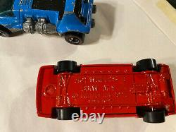 Hot Wheels, Rare, France, India, and Hard to find, Redline, Blackwall lot of 25
