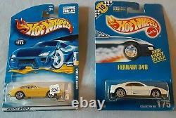Hot Wheels only Ferrari (Lot of 16) Vintage Blue Cards Hard to Find