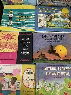 Huge Lot Of 40 Lets Read And Find Out Science Books Rare Hard To Find Vgc (40)