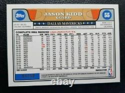 Jason Kidd 2008-09 Topps Chrome Gold Refractor 04/50! Iconic Set! Hard to find