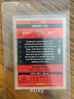 Jeremy Lin Past Present Auto Super Rare Hard To Finds Knicks Linsanity Auto