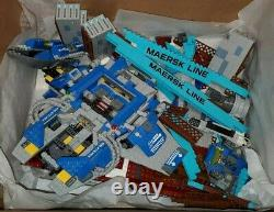 LEGO Lot Rare Parts from retired sets hard to find Pieces Maersk /Spaceship