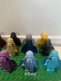 LEGO Star Wars 15 Monochromatic Darth Vader Minifigures Lot Hard To Find Rare