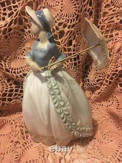 LLADRO NAO 471 Coquette Retired Mint! No Box! Hard to Find! L@@K