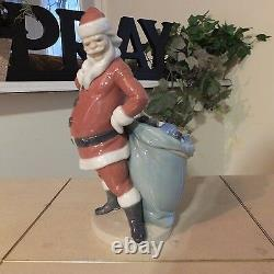 LLADRÓ RARE SANTA CLAUS with TOYS 4905 HARD TO FIND MINT CONDITION FAST SHIPPING