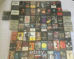 LOT OF Heavy Metal/Hard Rock 74 CASSETTES Mostly 80s Many Rare & Hard to Find